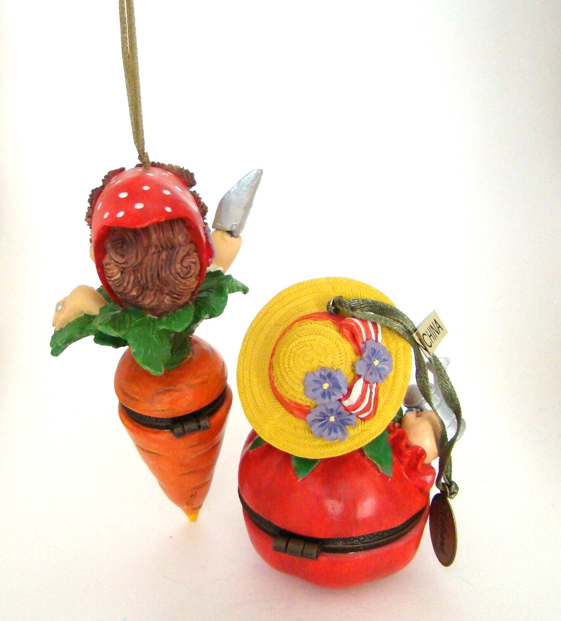 Katherine's Collection Eula & Mae Vegetable Body Hinged Box Set/2 (07-70298)