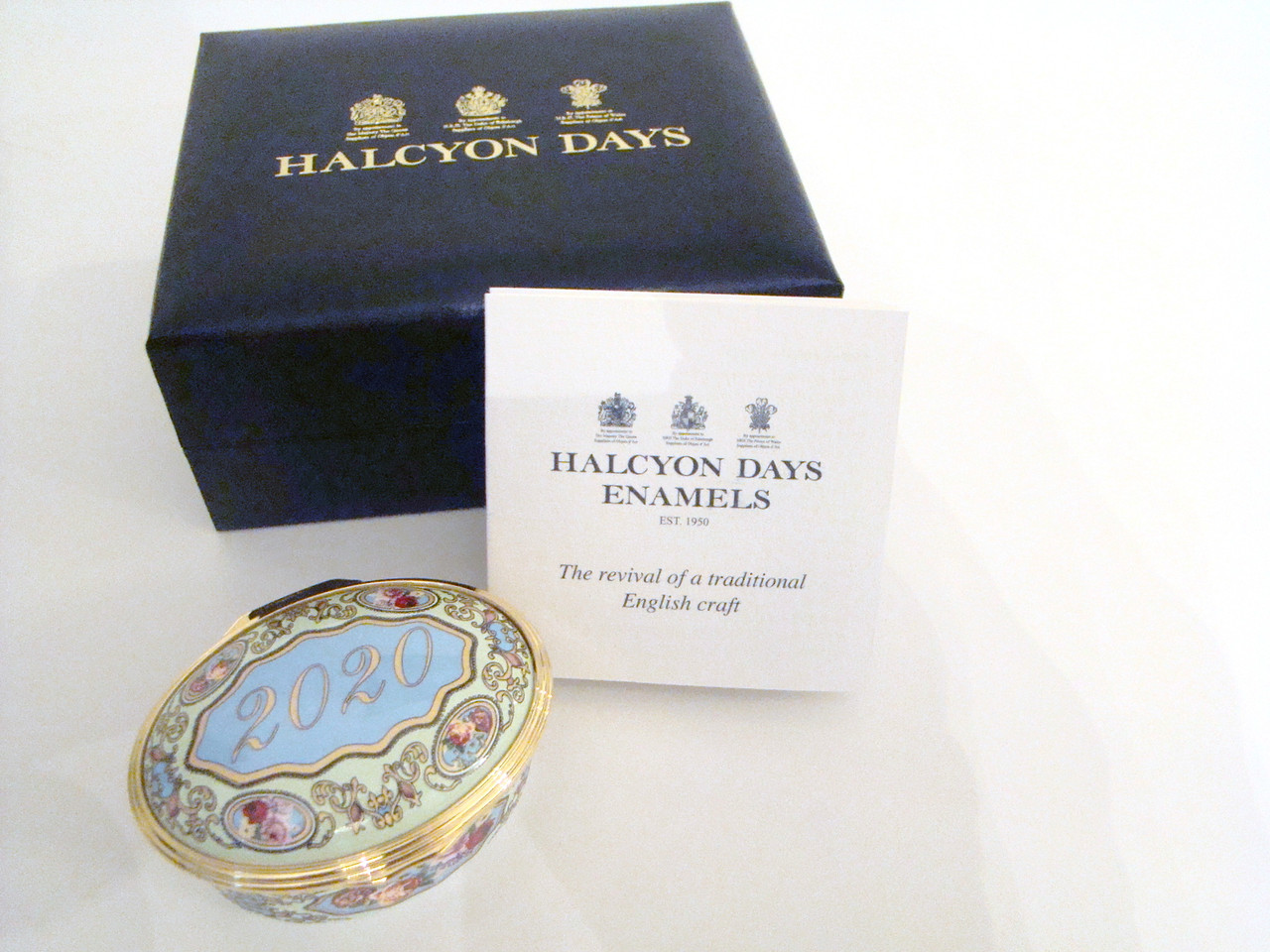 Halcyon Days 2020 Year Box ENYB200102G