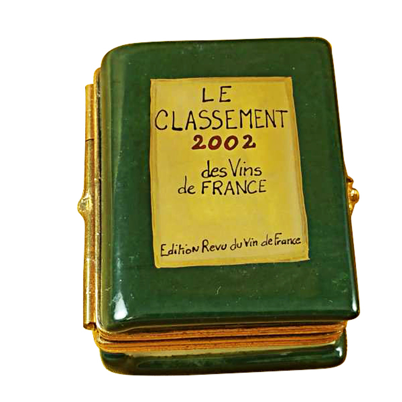 Limoges Imports WINE BOOK Limoges Box TN382-H