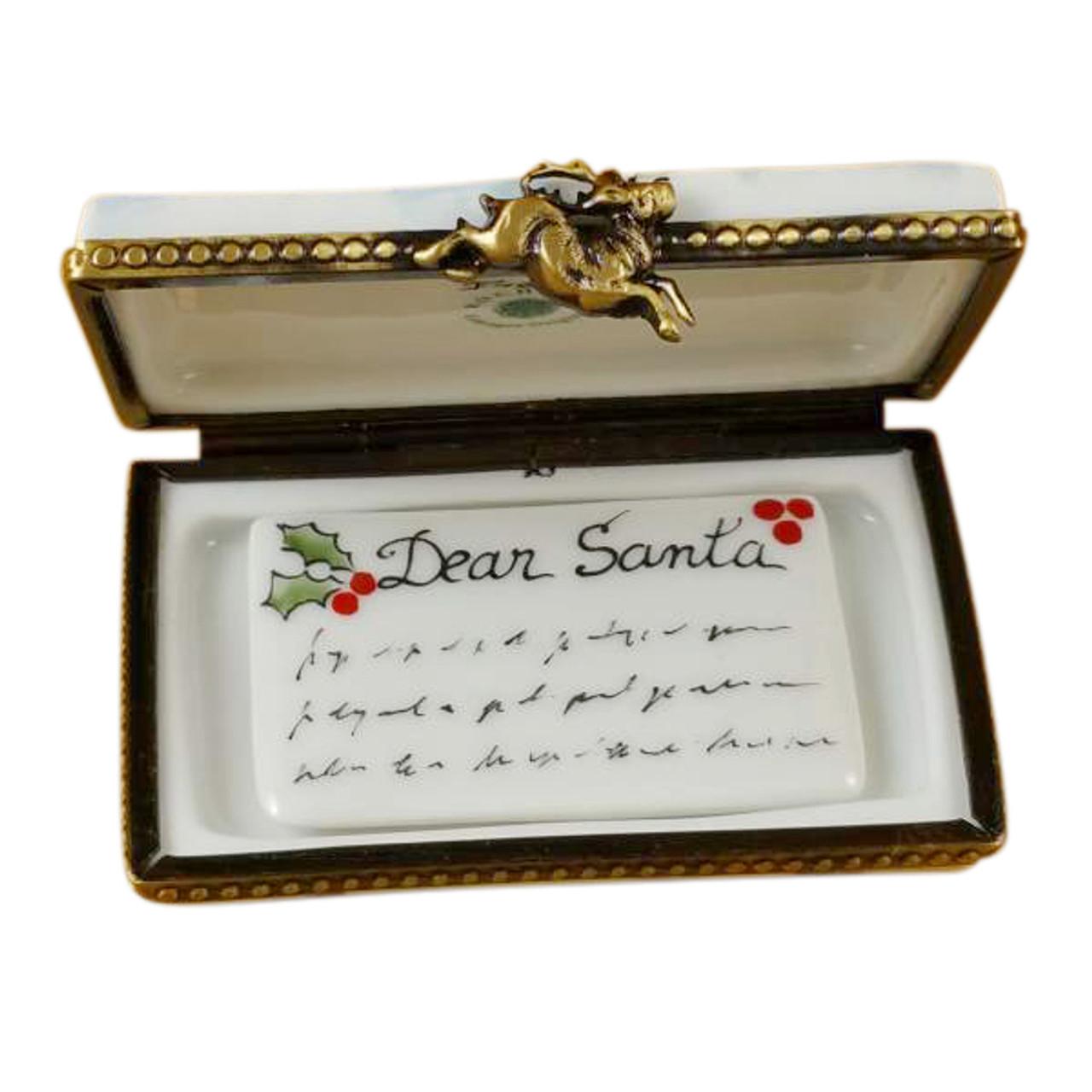 Rochard Letter To Santa Limoges Box RX160-H