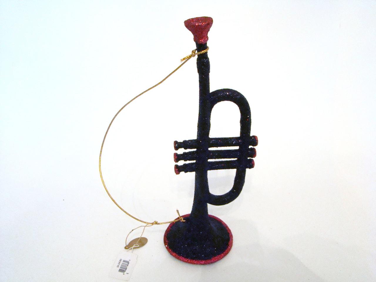 Katherine's Collection Large Trumpet Ornament (22-24085Trumpet)