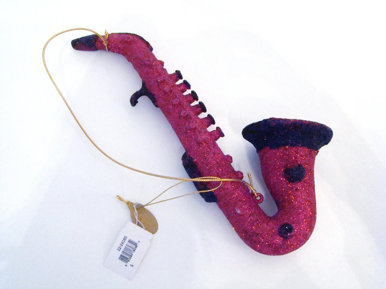 Katherine's Collection Large Saxophone Ornament (22-24085Saxophone)