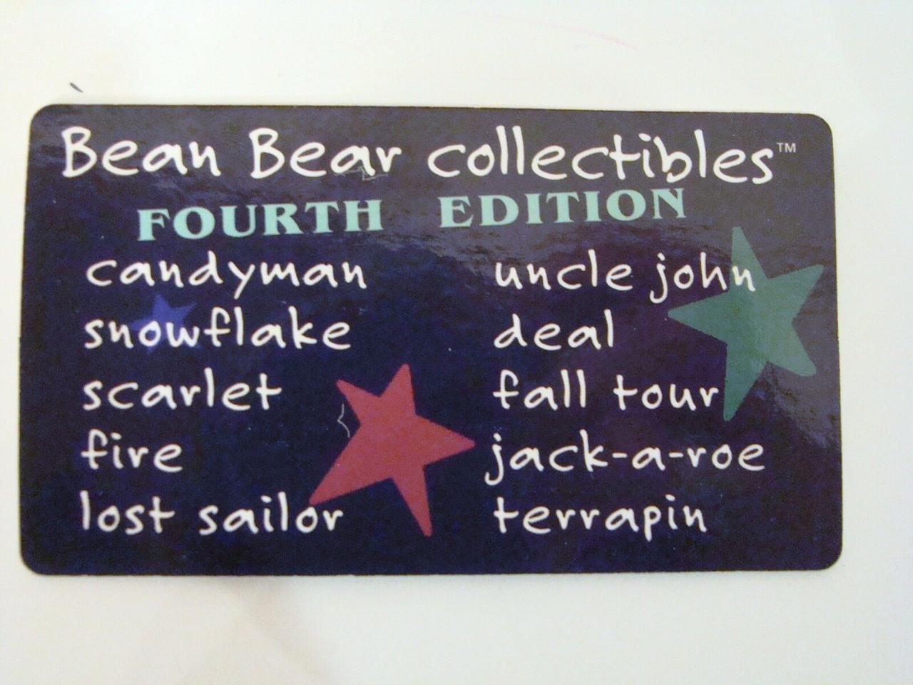 Grateful Dead Bean Bear Laminate Collector Card 8 cards 2,4,5,6,7,10,12,13 (LB-CardSet8)