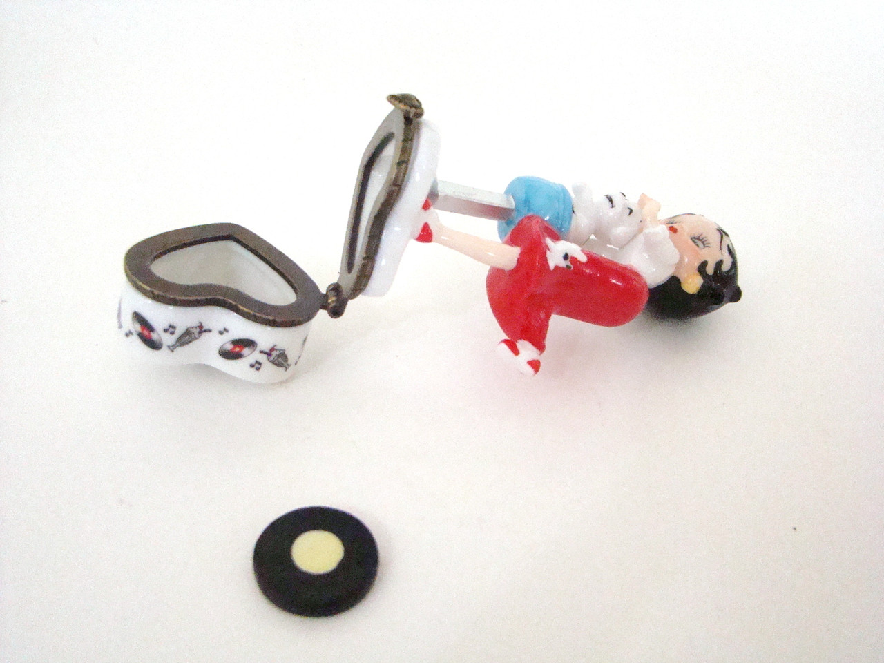 Midwest of Cannon Falls Betty Boop in Poodle Skirt with Record PHB