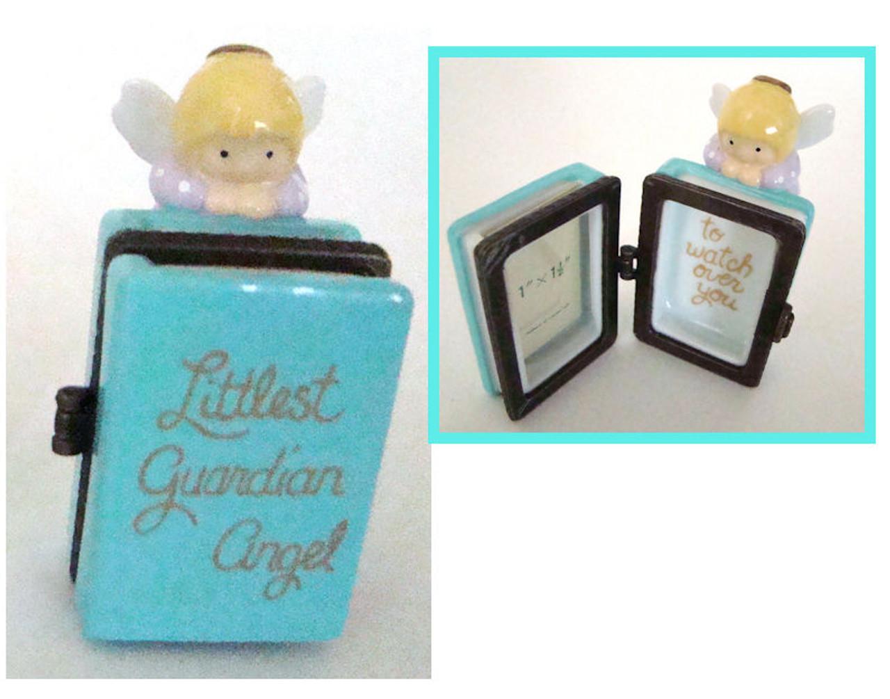 Guardian Angel Photo Frame Hinged Box PHB (22893-7)
