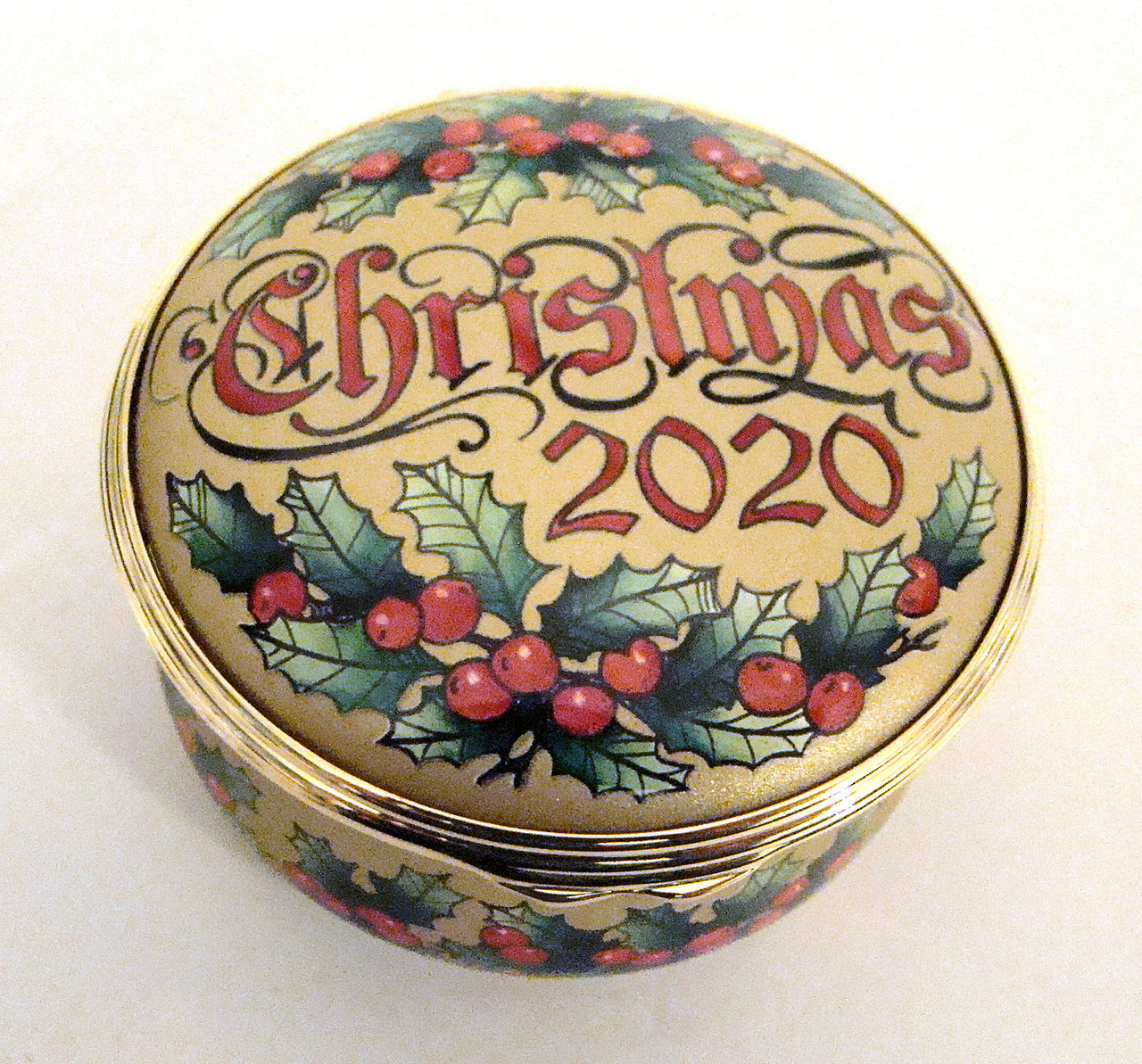Halcyon Days 2020 LIMITED EDITION Christmas Box ENCH200133G