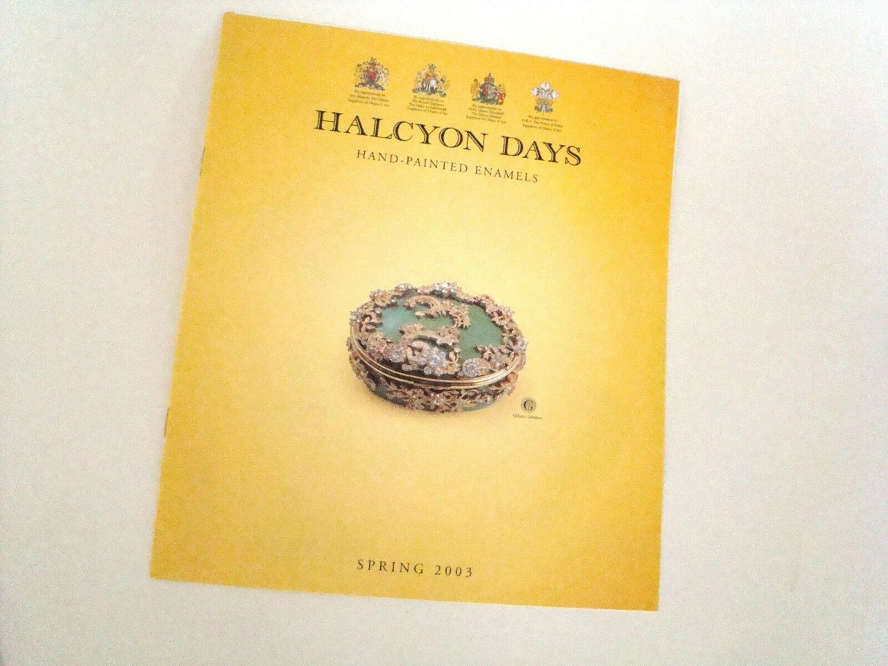 Halcyon Days Spring 2003 Catalog For Reference Only