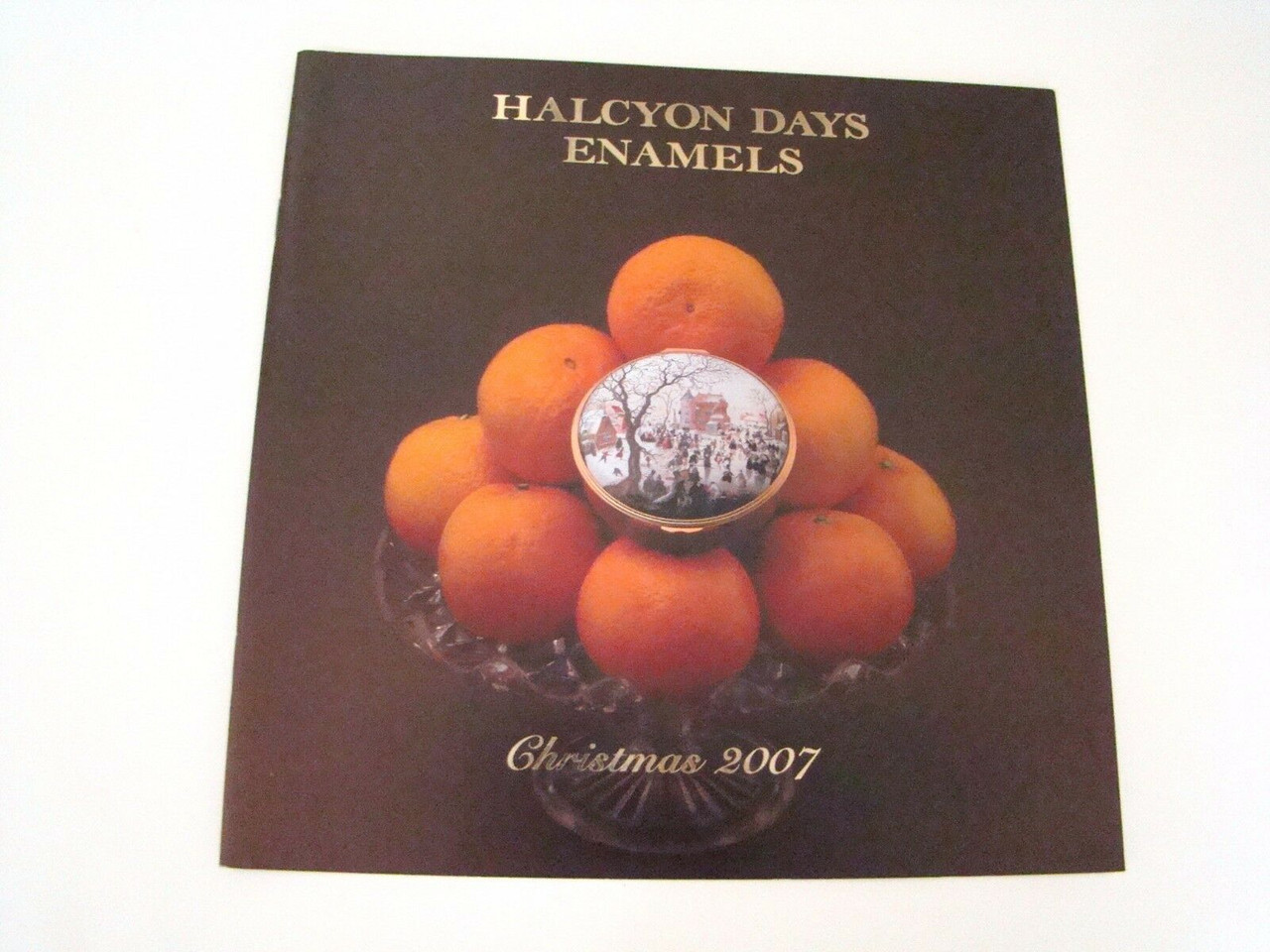 Halcyon Days Christmas 2007 Catalog For Reference Only