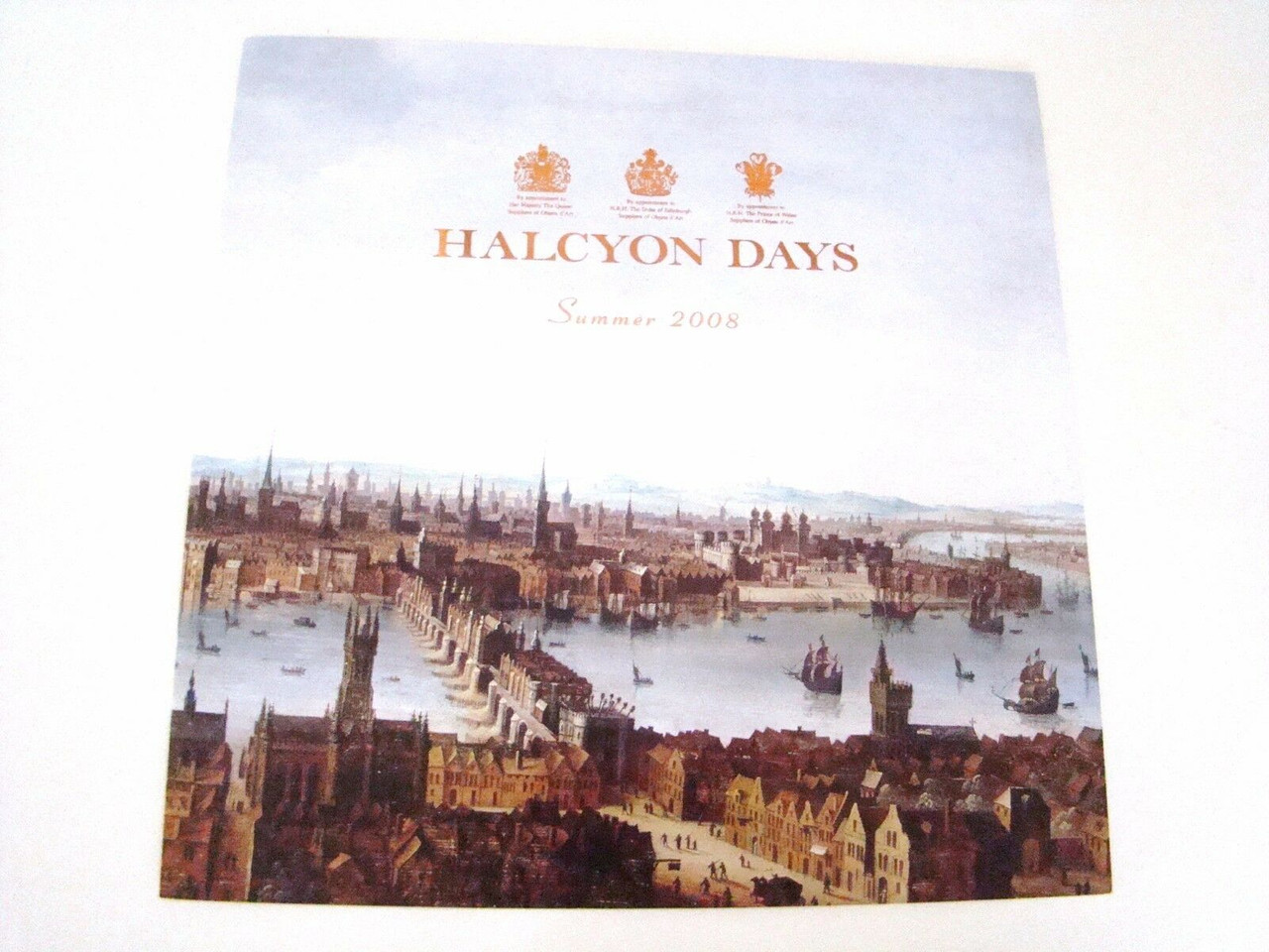 Halcyon Days Summer 2008 Catalog For Reference Only