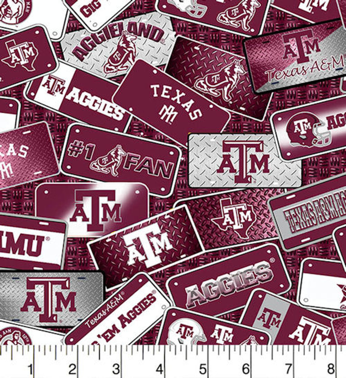 Texas A&M License Plates