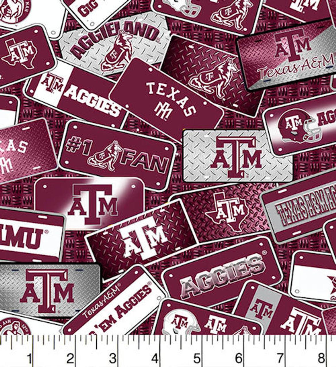 Texas A&M License Plates