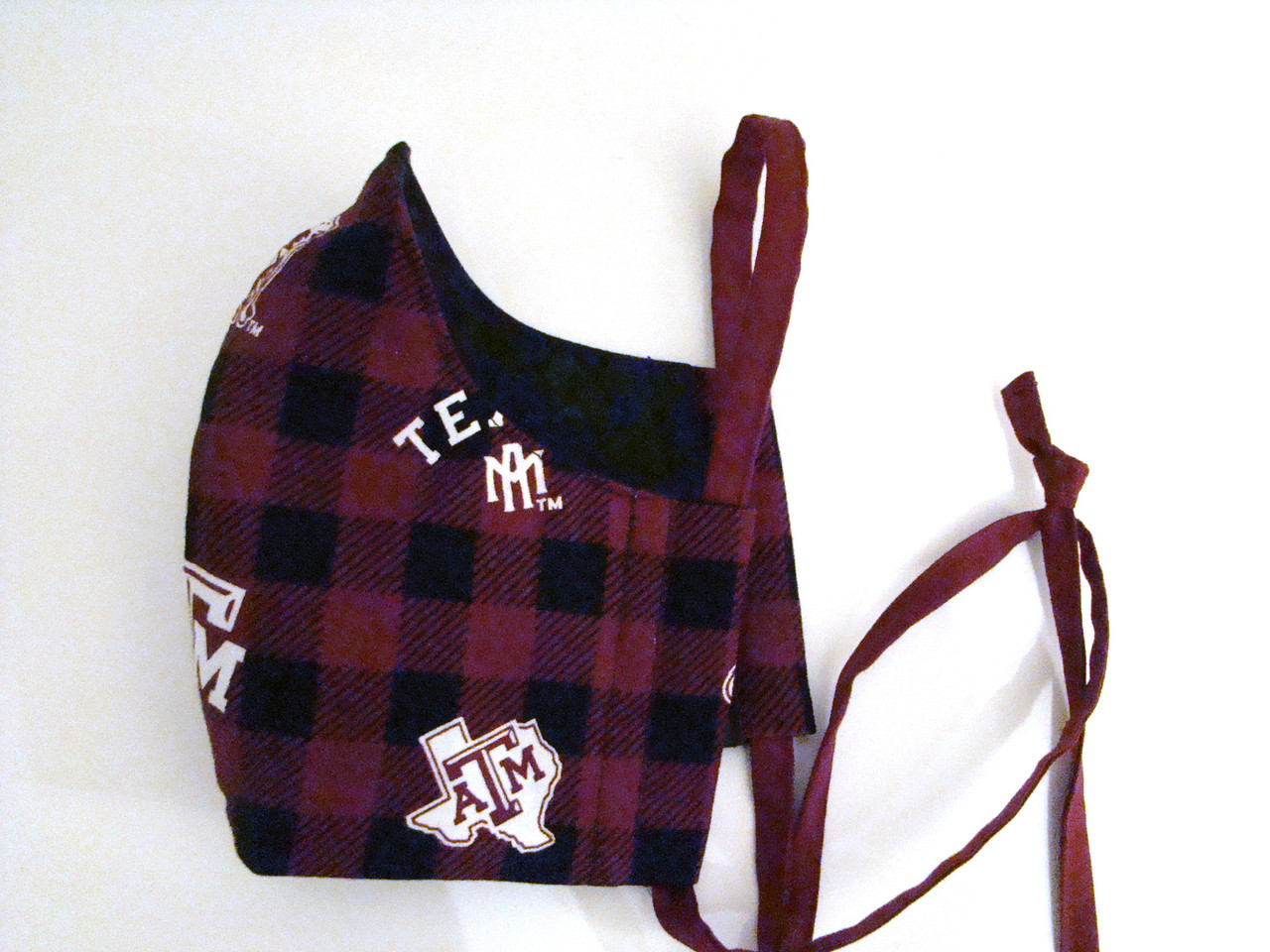 Face Mask in Texas A&M Plaid