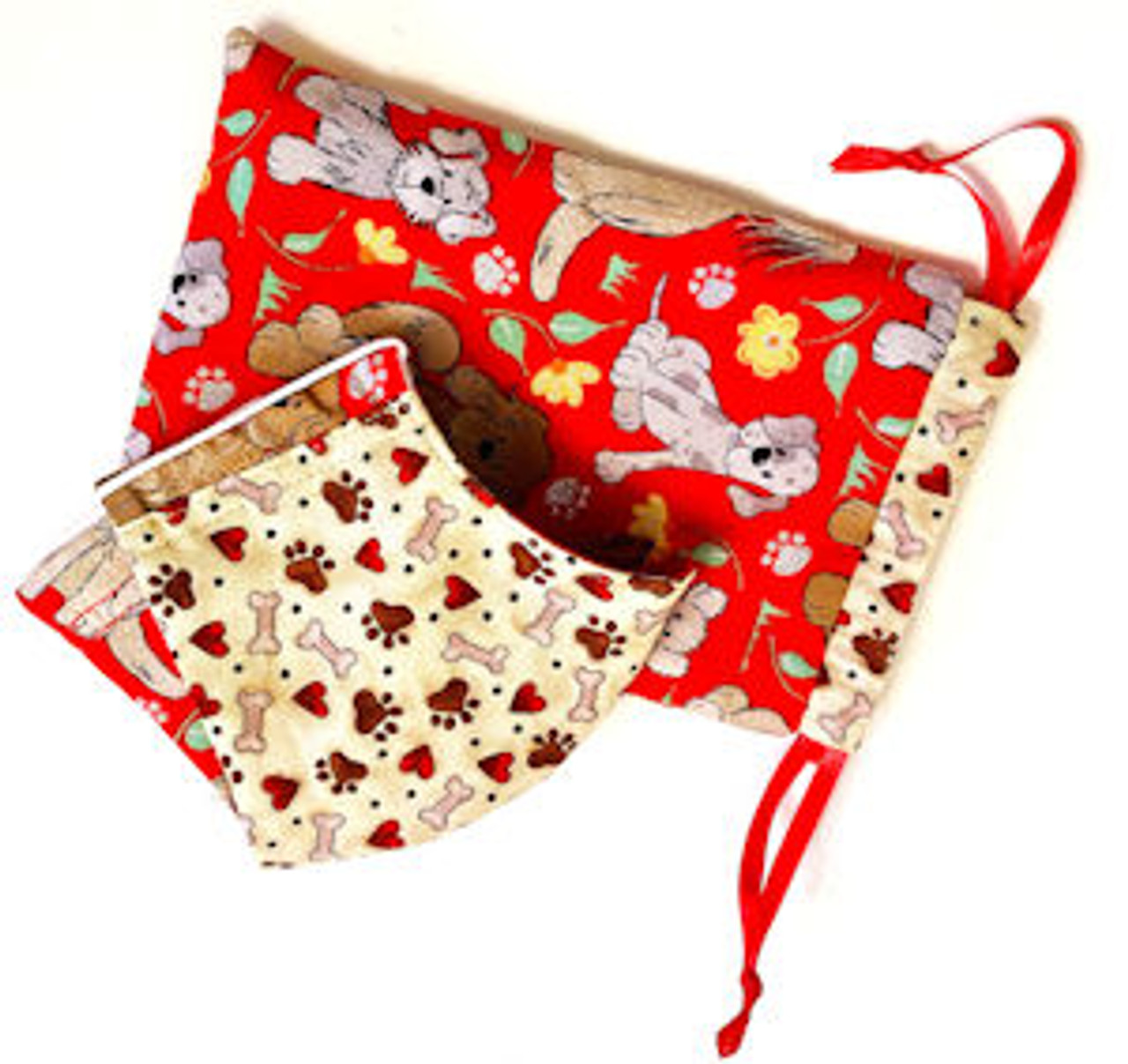 Matching Reversible Fabric Bag