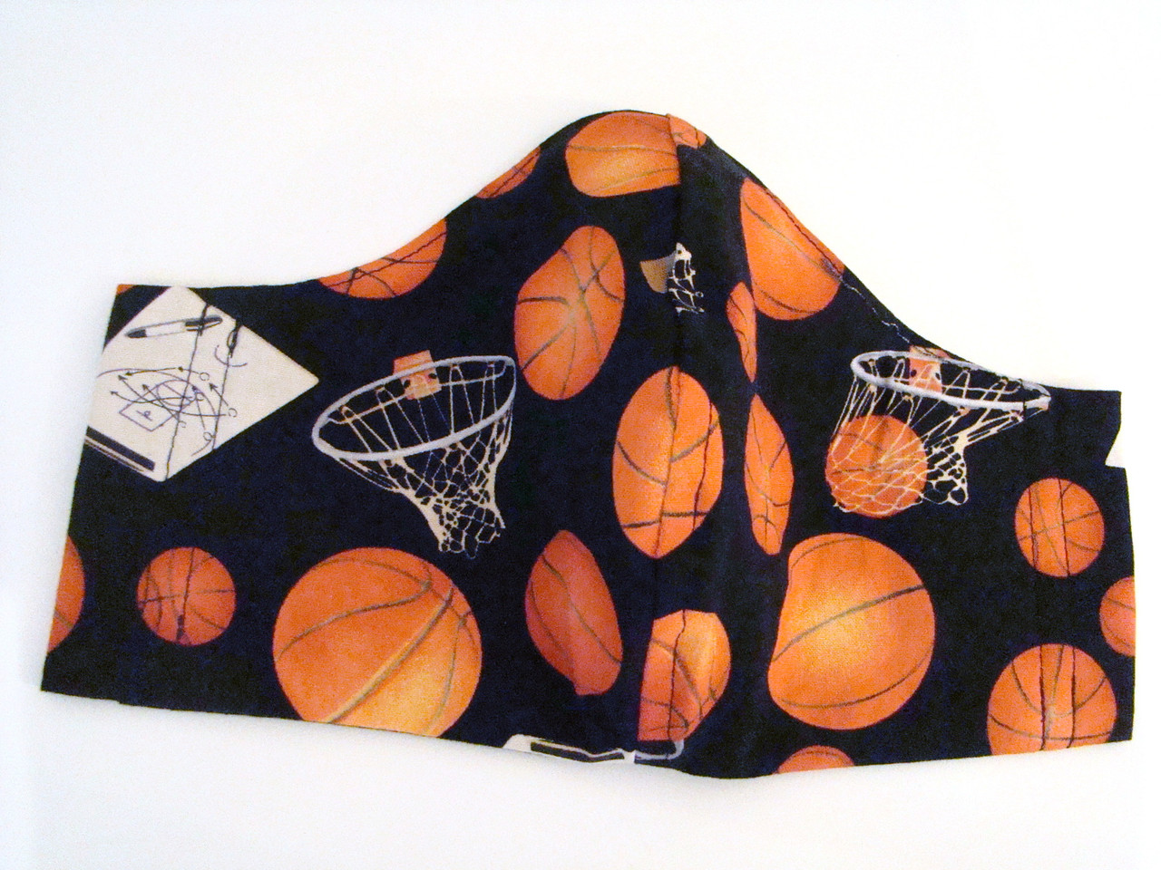 Face Mask - Basketball and Hoops
