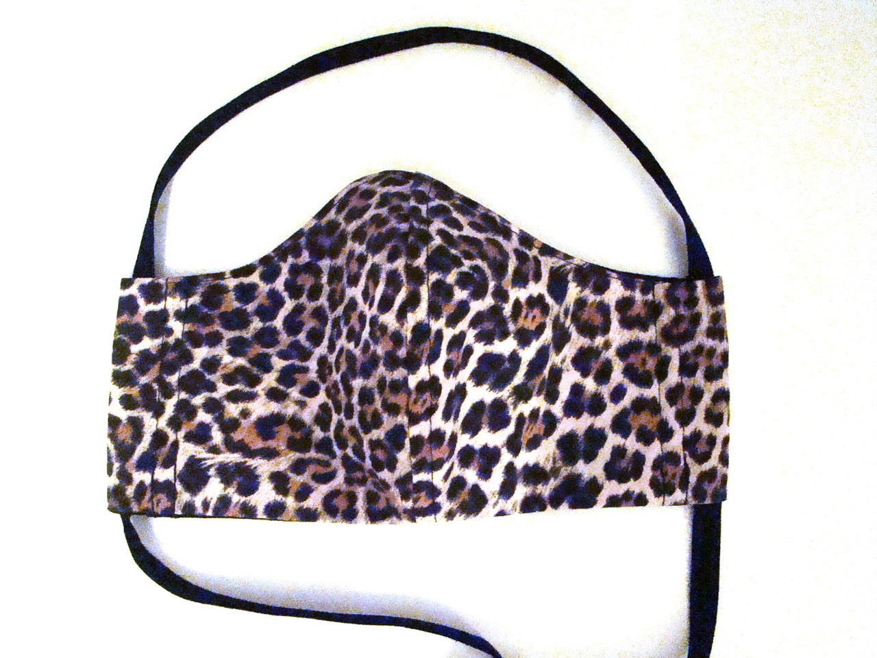 Face Mask - Leopard and Black