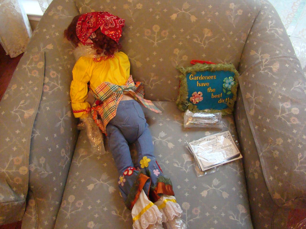 Katherine's Collection GARDEN MAE Wayne Kleski Doll  27 Inch