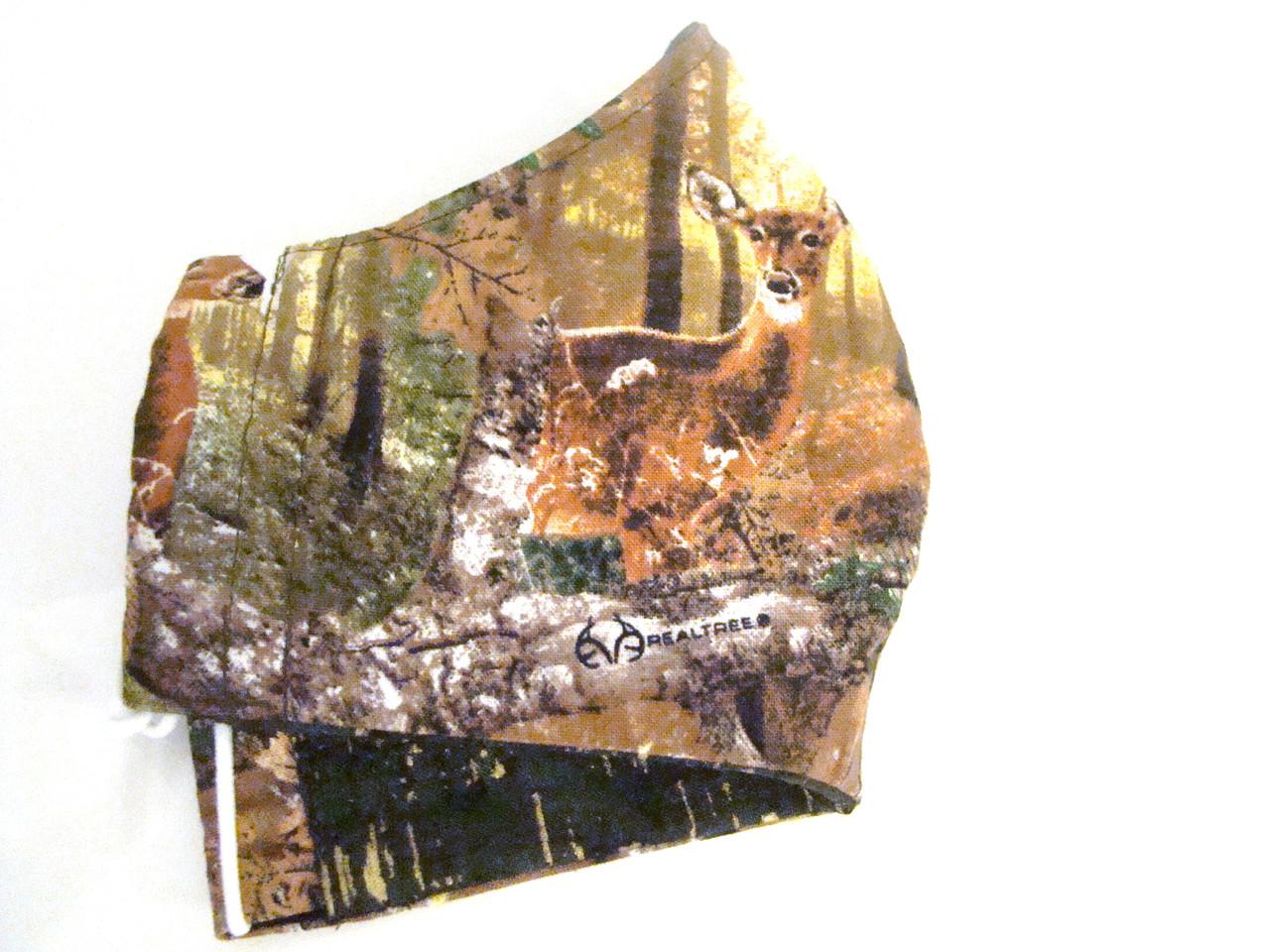 Face Mask - Deer Hunting Pattern
