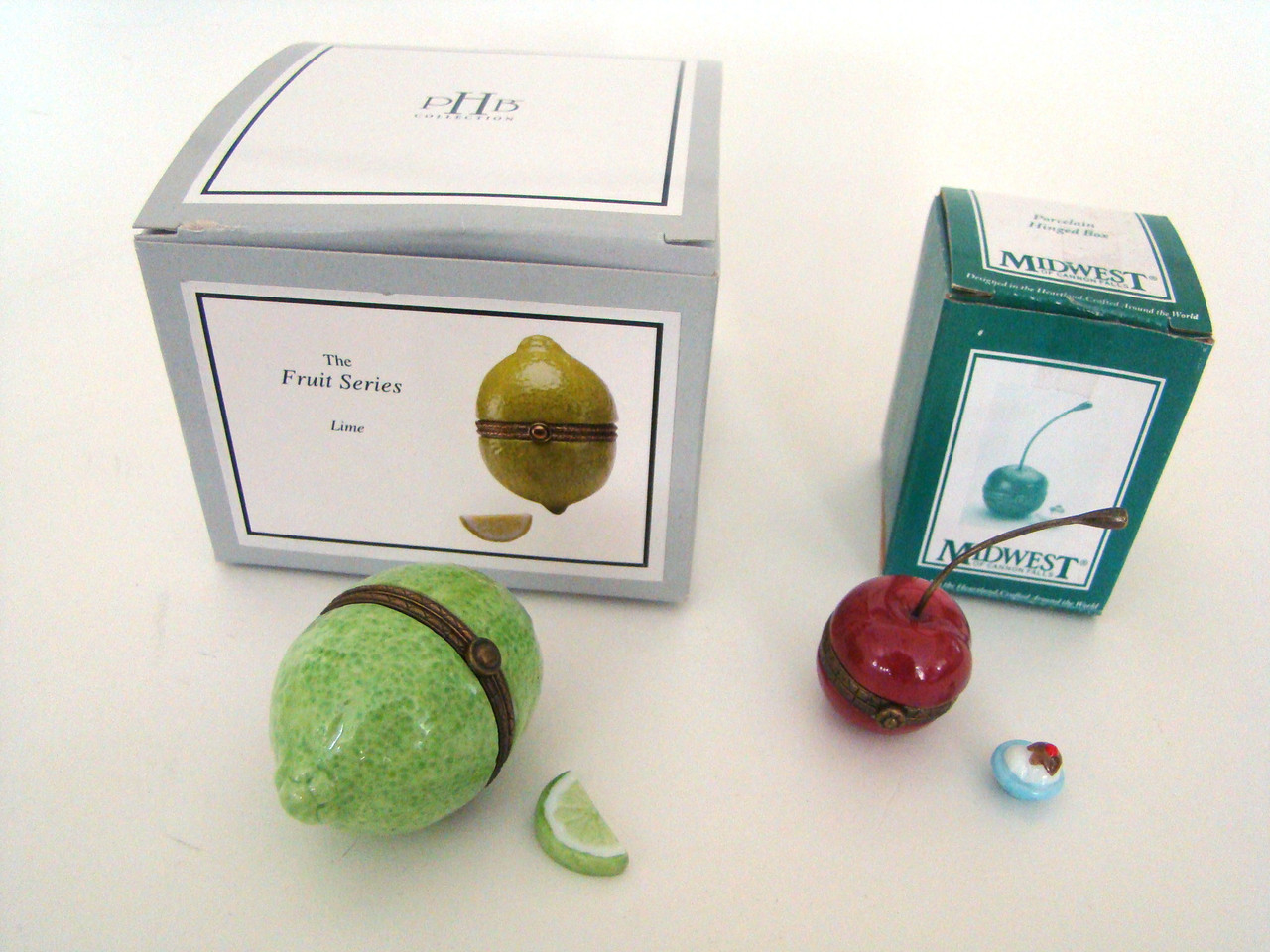 Fruit Series SET of 2 fruit Cherry and Lime PHB
