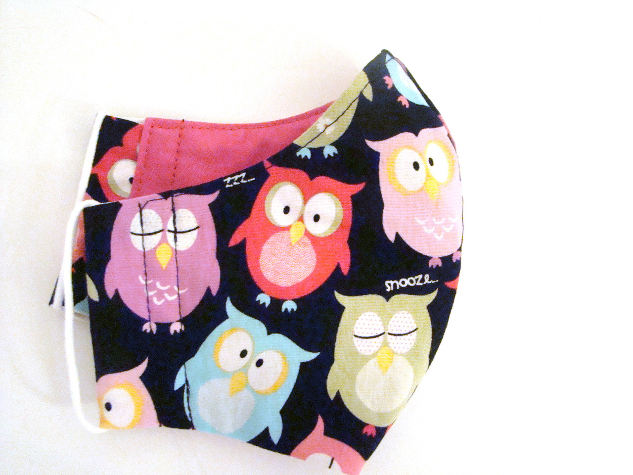 Face Mask - Owls