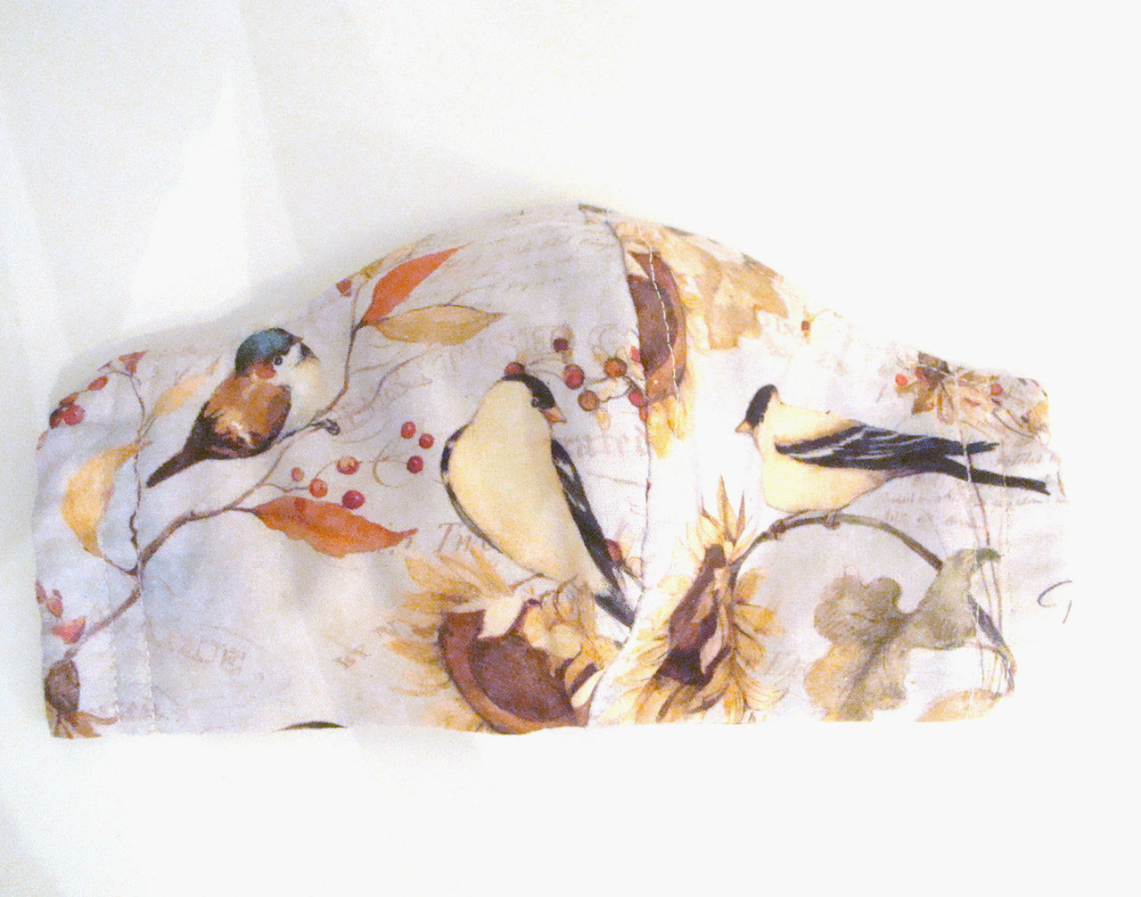 Face Mask - Fall Songbirds and Pheasants (FM-FALL-SONGBIRDS-PHEASANTS)