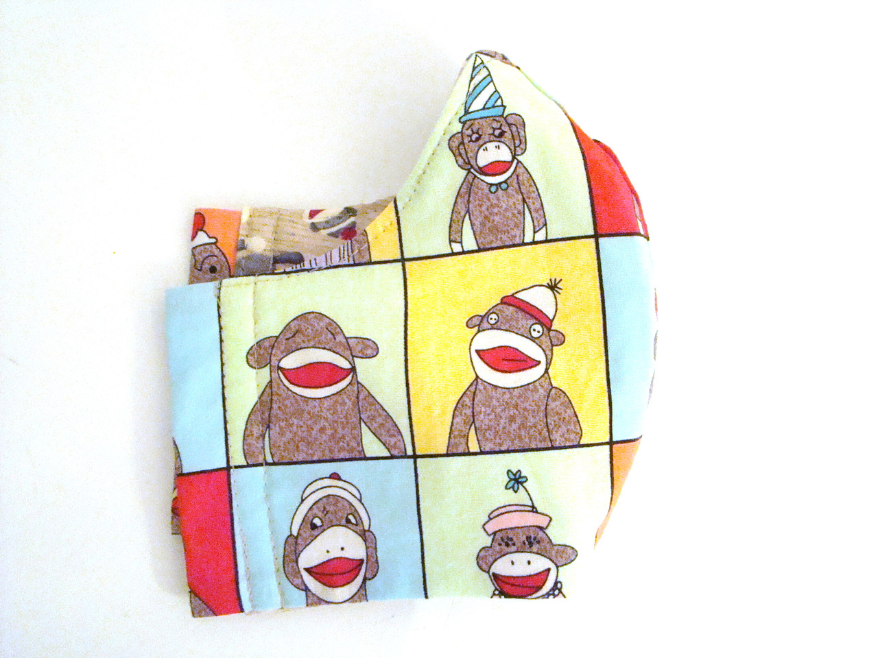 Face Mask - Sock Monkeys (FM-SockMonkey)