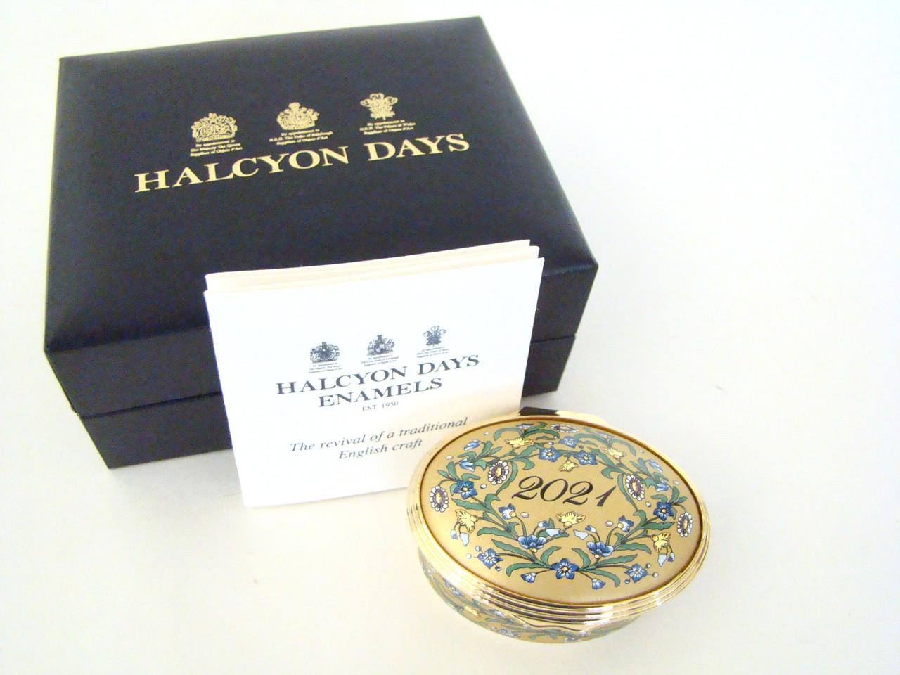 Halcyon Days 2021 Year Box ENYB210102G