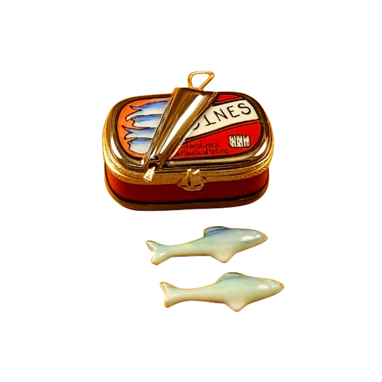 Sardine Box with Sardine Limoges Box RK031