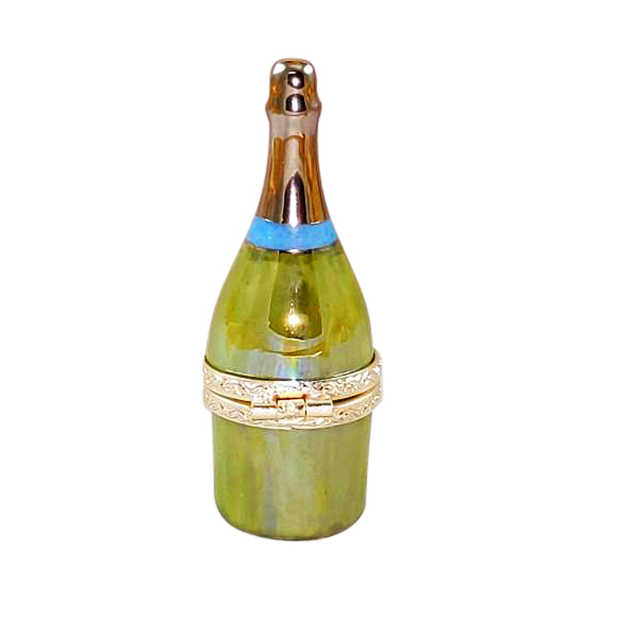 Prosecco Bottle with Flute Limoges Box RW095