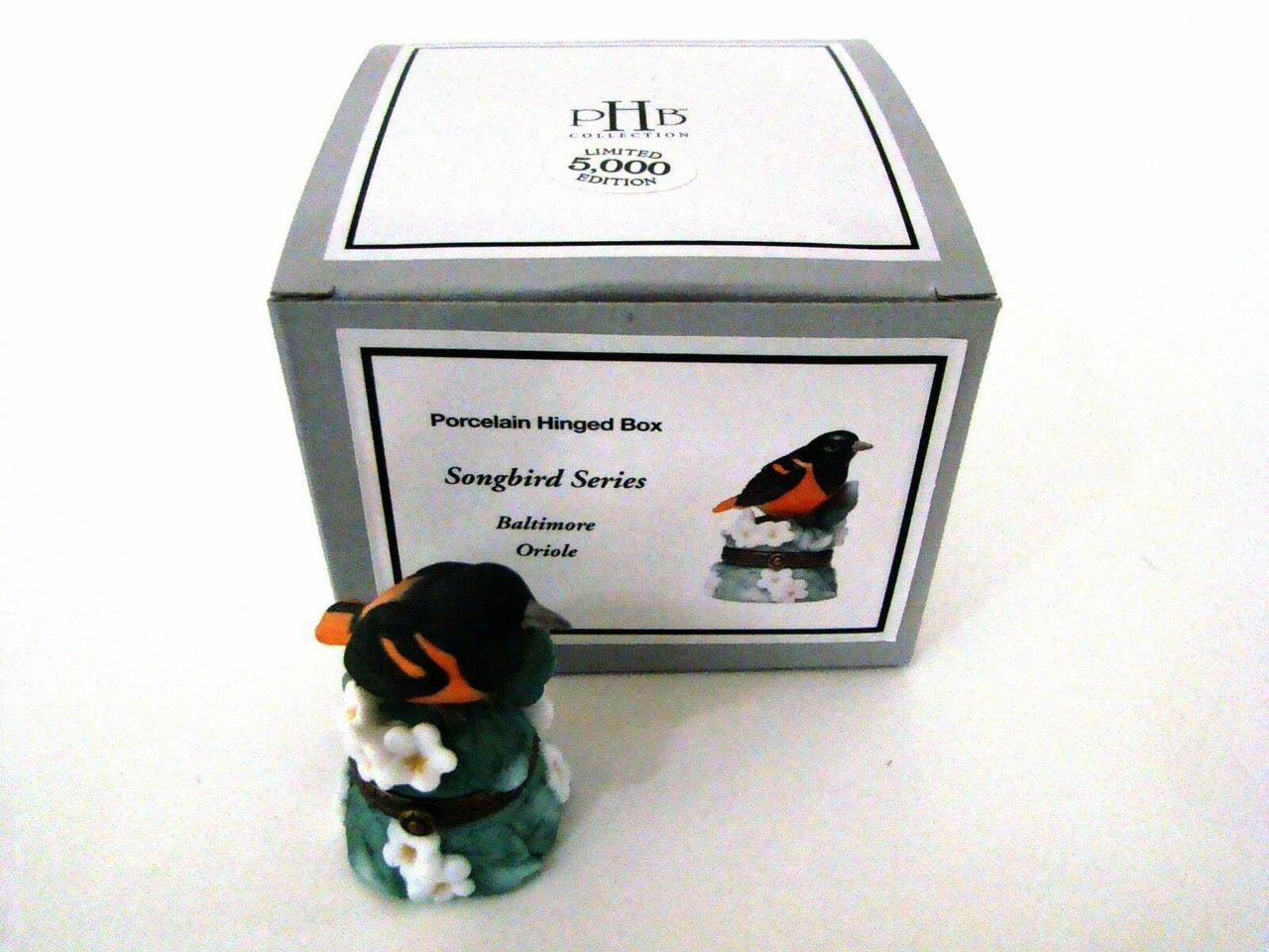 PHB Midwest of Cannon Falls Hinged Boxes - SONG BIRD SERIES Set of 6