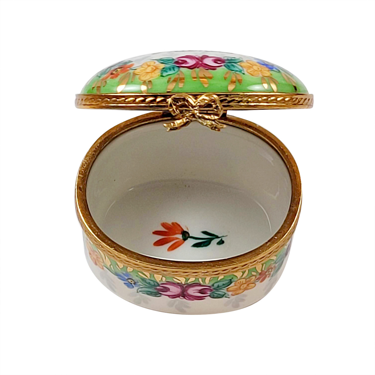 FOREVER FRIENDS with Flowers Limoges Box RO229