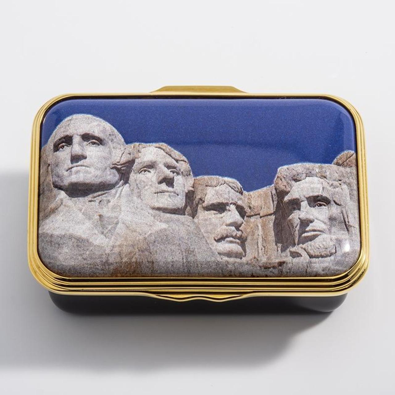 Halcyon Days Mount Rushmore ENMNR1123G