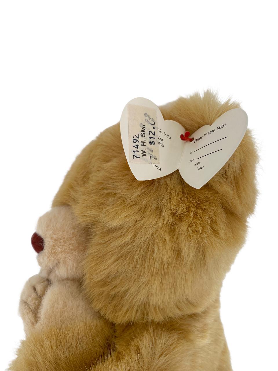 TY Plush HOPE Light Brown Bear Praying (Copy of TY5600)