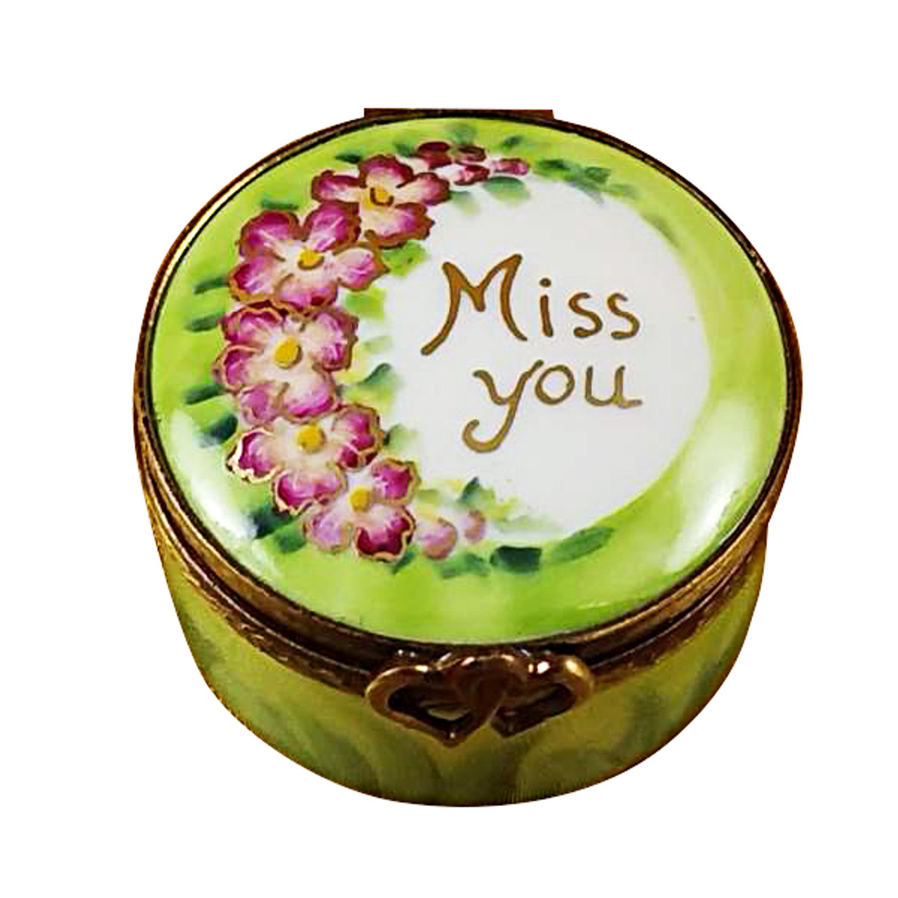 Miss You Round Limoges Box RO005