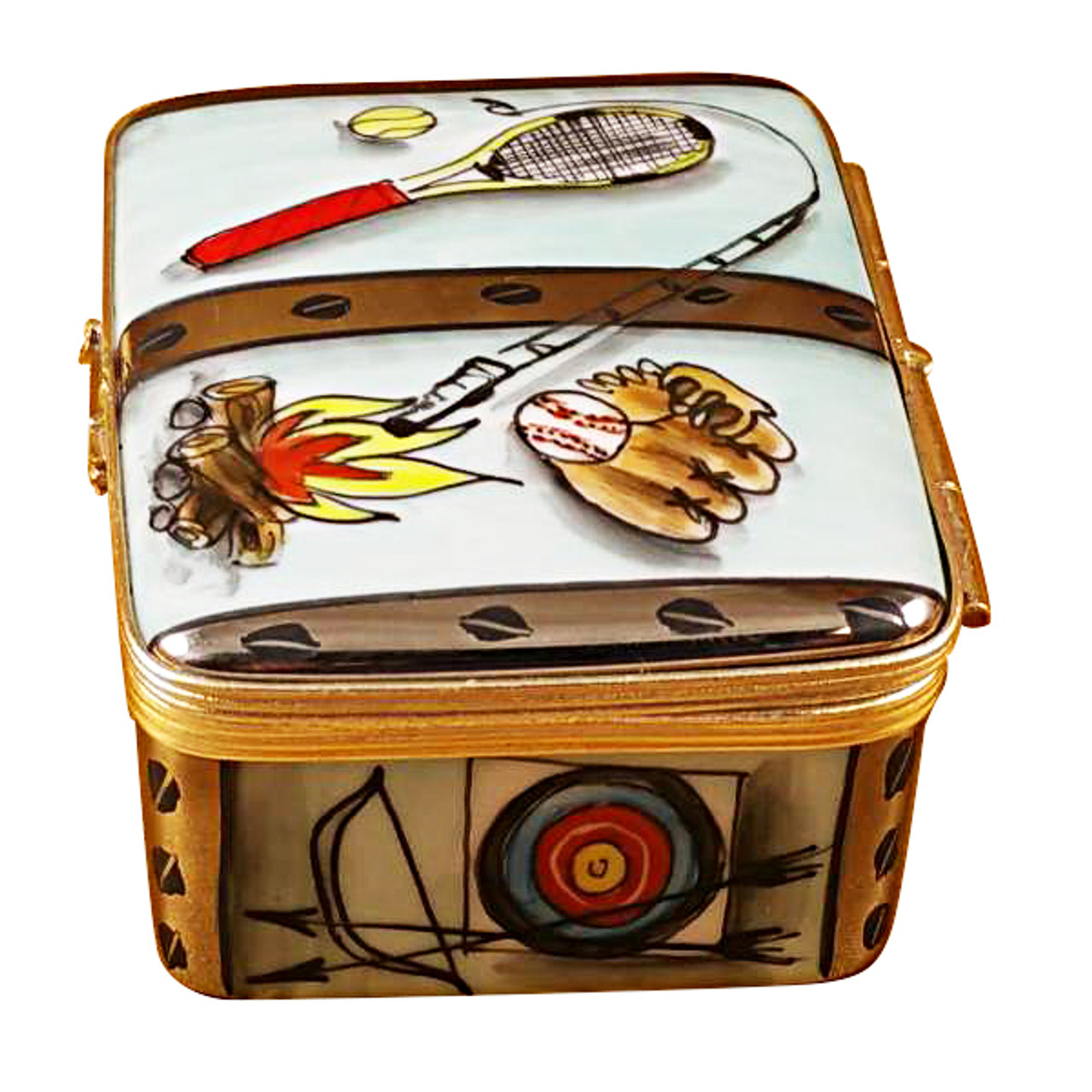 Camp Trunk Rochard Limoges Box