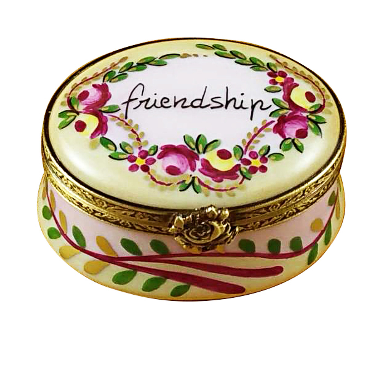 Friendship Oval Rochard Limoges Box