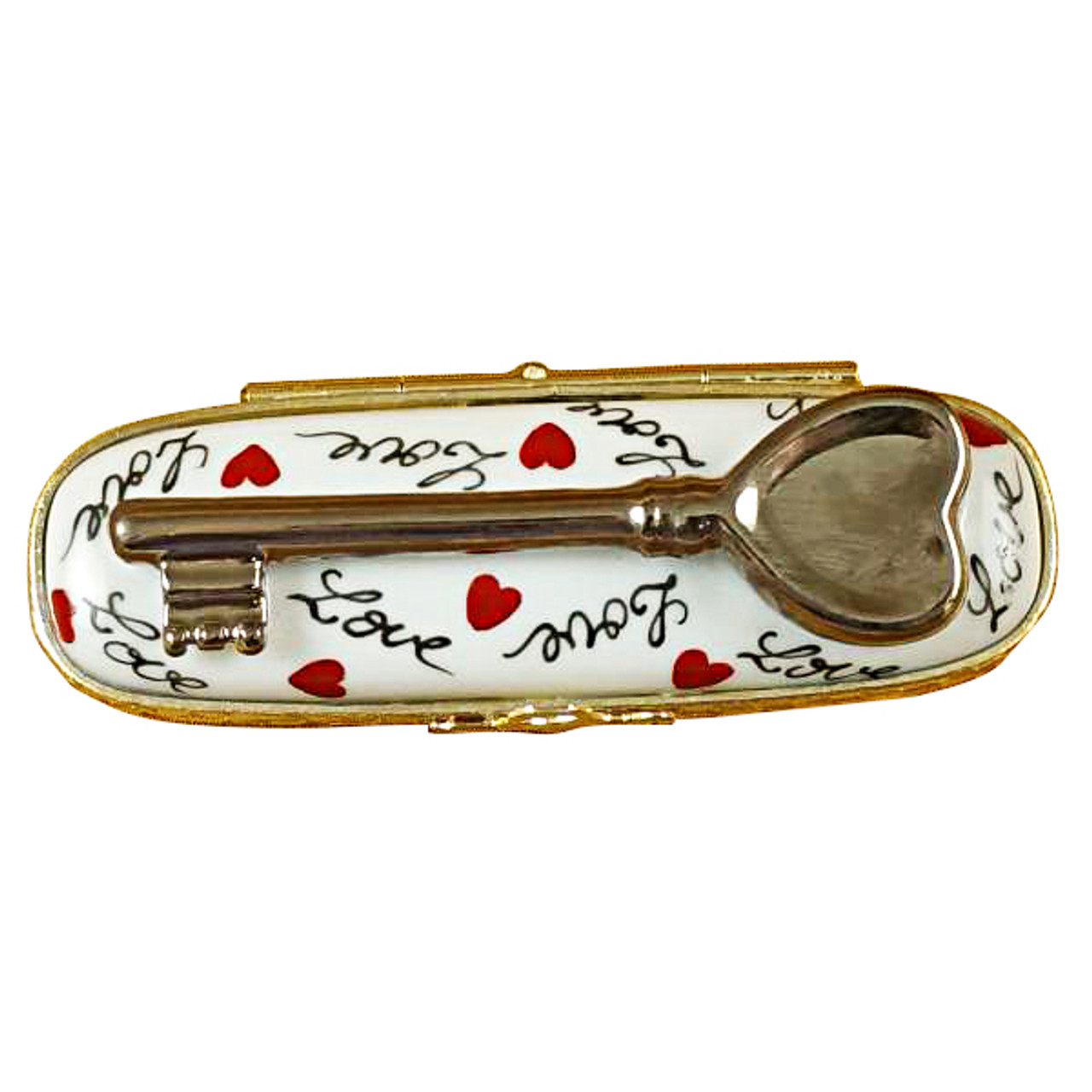 Key To My Heart Rochard Limoges Box