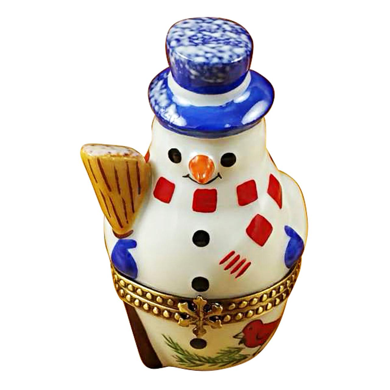 Nesting Snowman Set Rochard Limoges Box