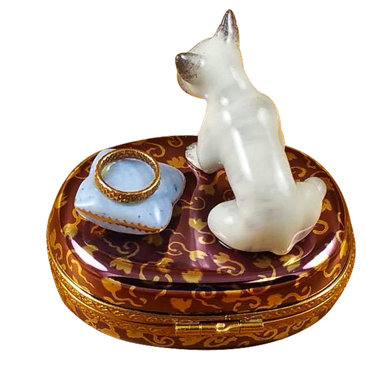 French Bulldog Rochard Limoges Box