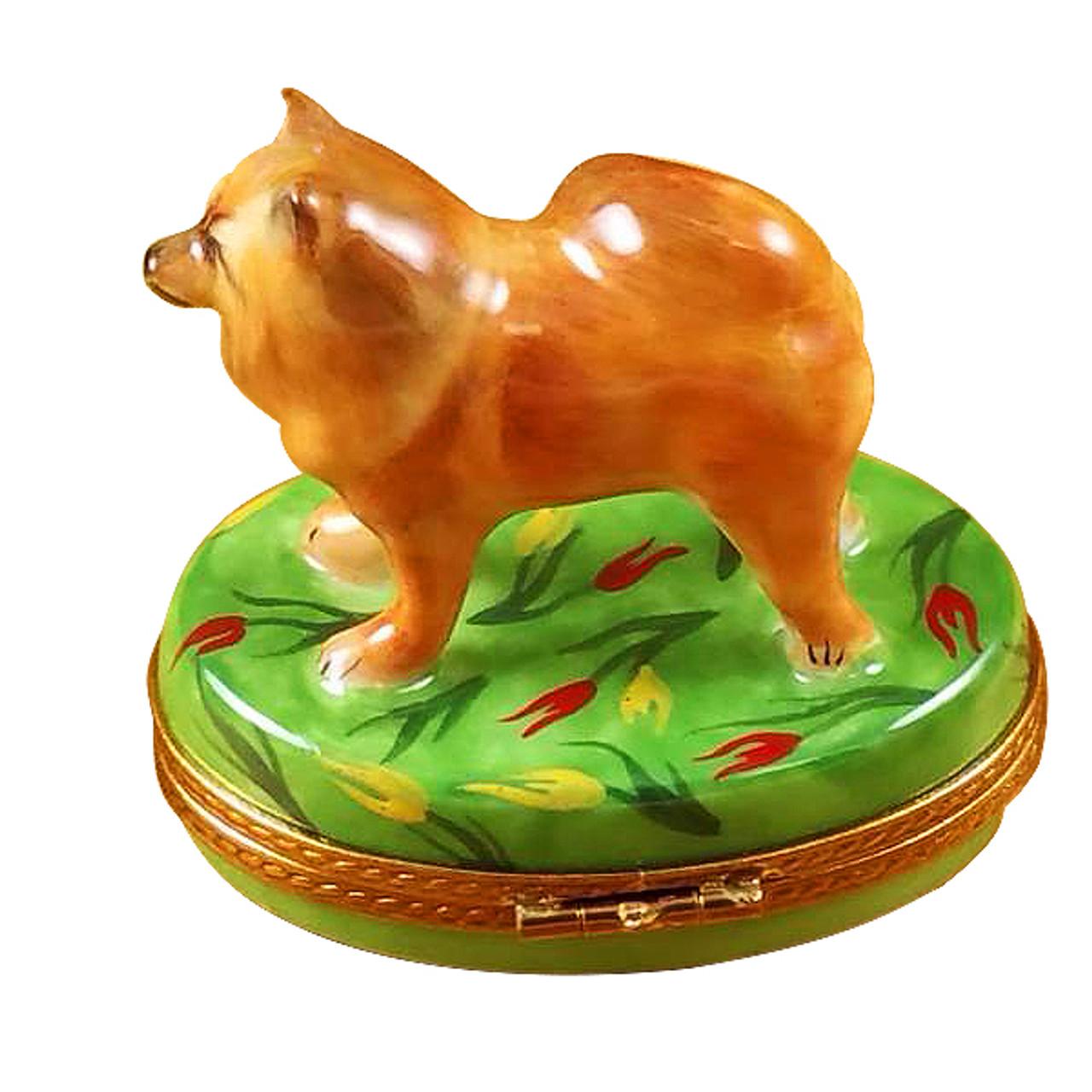 Chow Chow Rochard Limoges Box