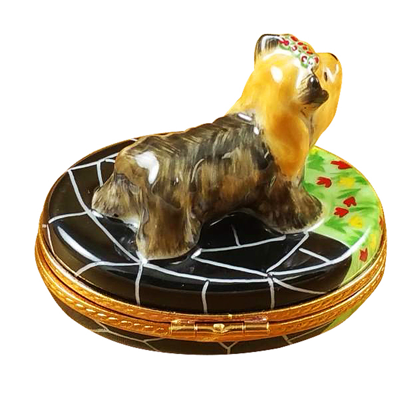 Terrier Rochard Limoges Box