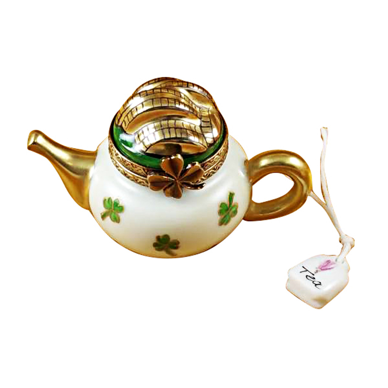 Irish Teapot Rochard Limoges Box