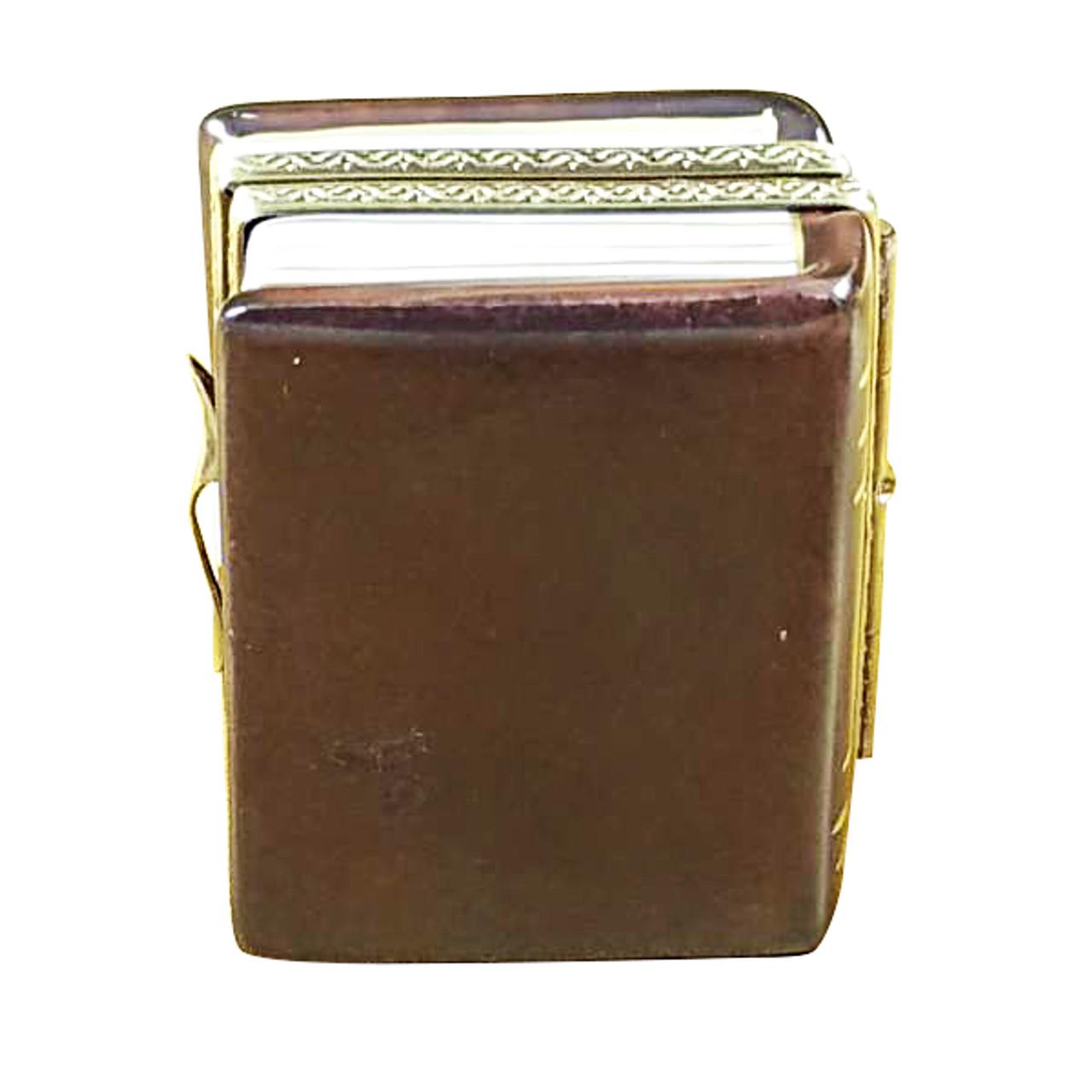 Cookbook W/Spoon Rochard Limoges Box