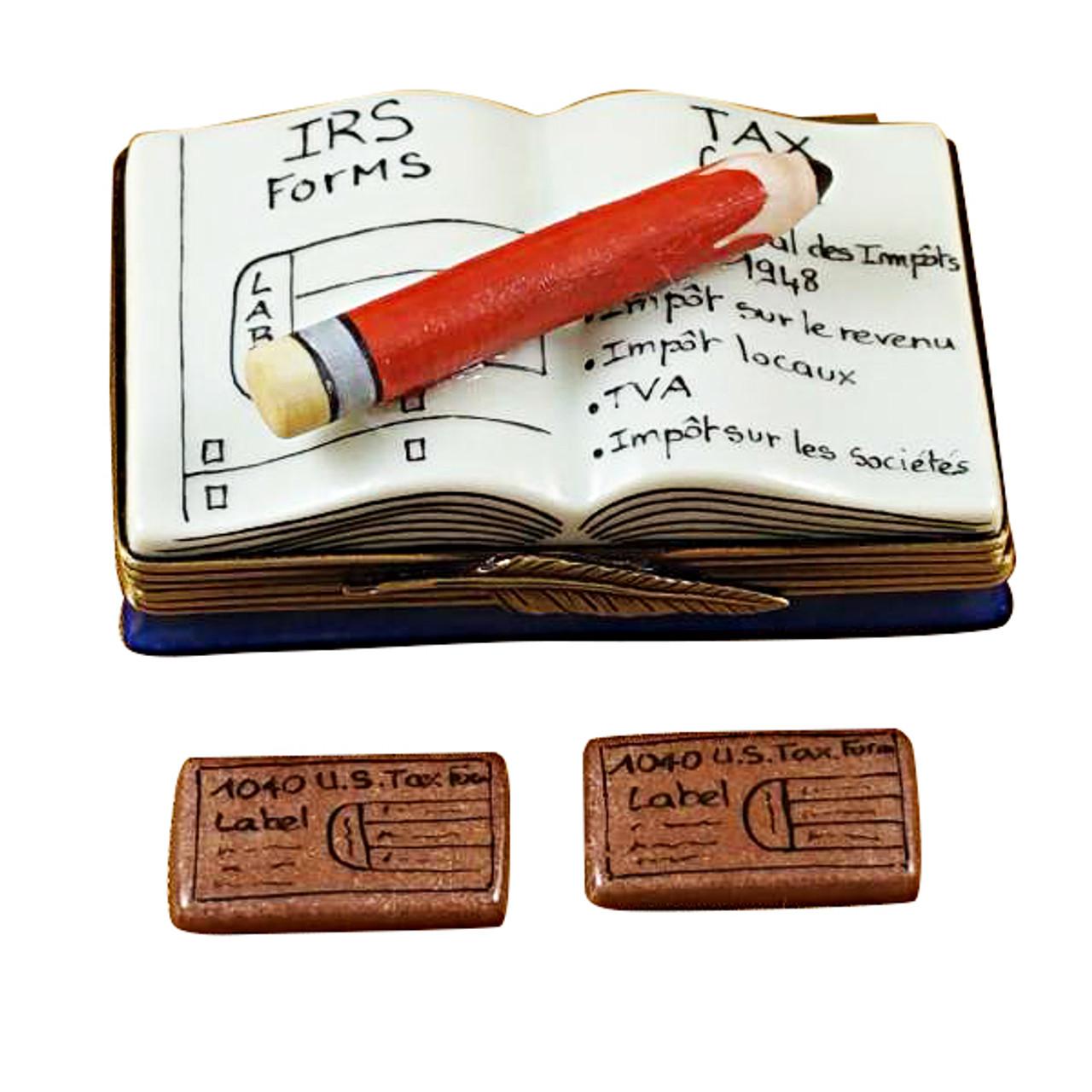 Cpa Book Rochard Limoges Box