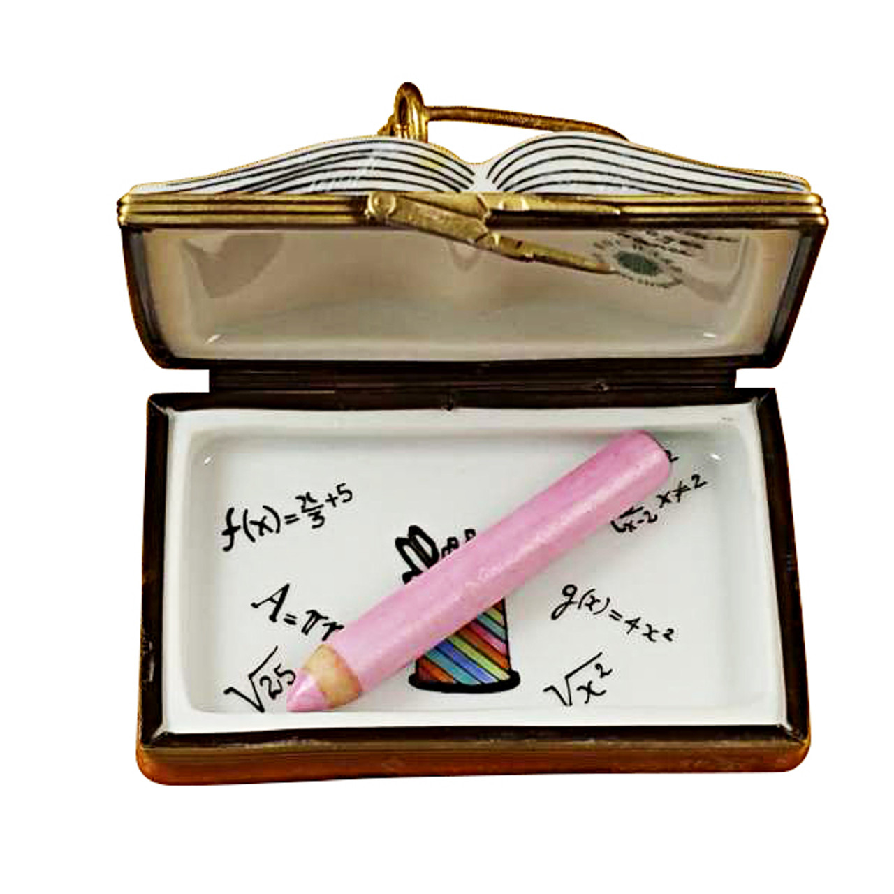 I Love My Teacher Book Rochard Limoges Box