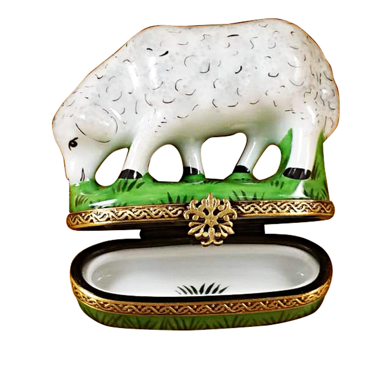 Sheep Rochard Limoges Box