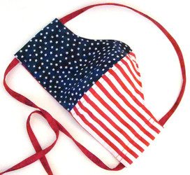 USA Pride American Flag Stars and Stripes All Cotton Cloth Face Mask