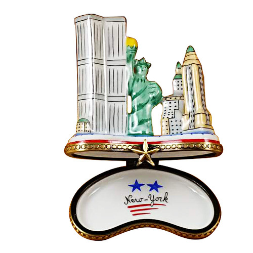 Manhattan Island Rochard Limoges Box