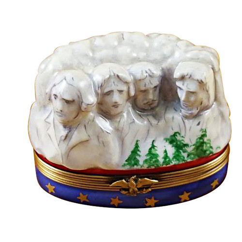 Mount Rushmore Rochard Limoges Box