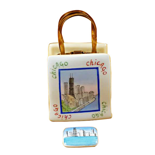 Shopping Bag Chicago Lighthouse Rochard Limoges Box