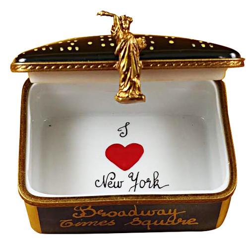 New York Skyline By Night Rochard Limoges Box